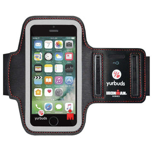 Yurbuds® IronMan Series Sport Armband for iPhone 5/ SE  for iPhone 5 - Black - fommystore
