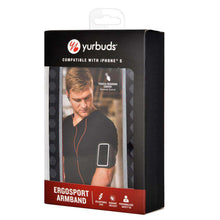 Load image into Gallery viewer, Yurbuds® Ergosport Radiant Reflective Armband for iPhone 5/SE - Black for iPhone 5 - fommystore