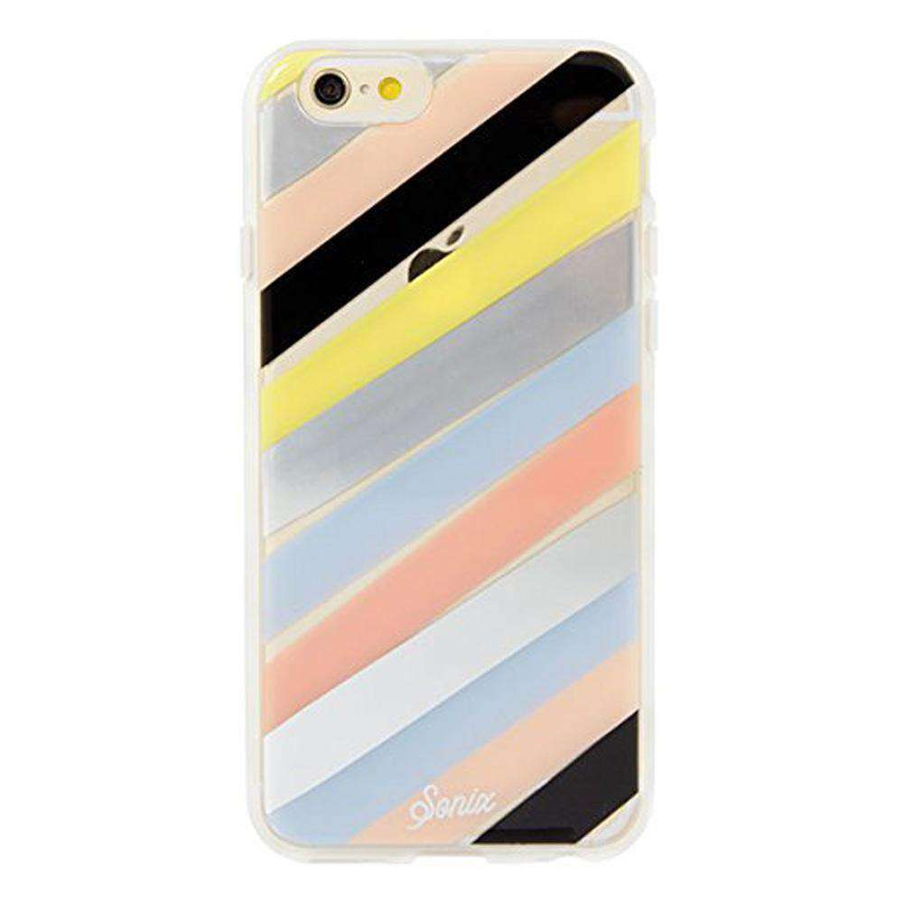 Sonix Clear Coat Protective Cell Phone Case - Checker Stripe for iPhone 6 - fommystore