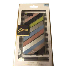 Load image into Gallery viewer, Sonix Clear Coat Protective Cell Phone Case - Checker Stripe for iPhone 6 - fommystore