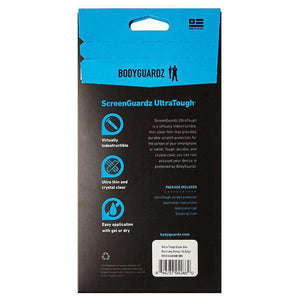 BodyGuardz UltraTough Clear ScreenGuardz for Samsung Galaxy S6 edge SM-G925F - fommystore