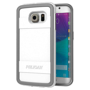 Pelican ProGear Protector Series - White / Grey for Samsung Galaxy S6 edge SM-G925F