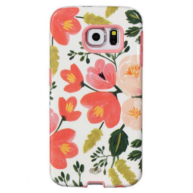 Sonix Lenntek Inlay Case - Botanical Rose for Samsung Galaxy S6 edge SM-G925F - fommystore
