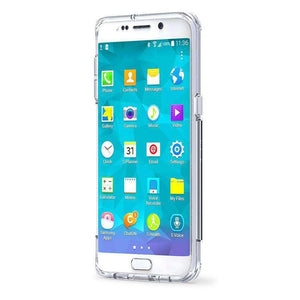 PureGear Slim Shell PRO Case - Clear/ Clear for Samsung Galaxy S6 edge Plus SM-G928F - fommystore