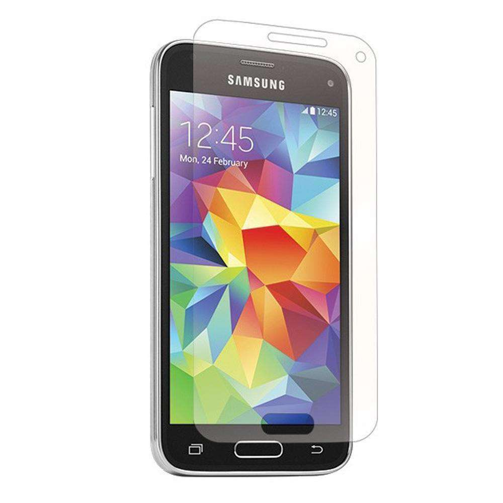 BodyGuardz ScreenGuardz Tempered Glass Screen Protection Pure Express Align for Samsung GALAXY S5 mini SM-G800 - fommystore