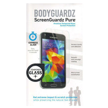 Load image into Gallery viewer, BodyGuardz ScreenGuardz Tempered Glass Screen Protection Pure Express Align for Samsung GALAXY S5 mini SM-G800 - fommystore