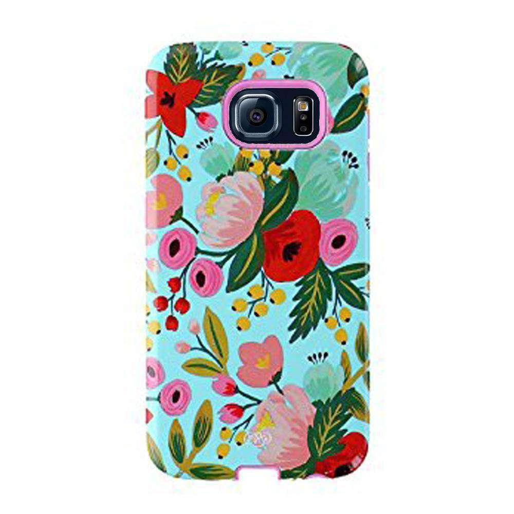 Sonix Inlay Case - Garden Bloom Floral for Samsung Galaxy S6 SM-G920F - fommystore