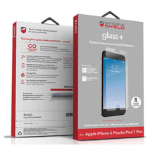 Load image into Gallery viewer, ZAGG InvisibleShield GlassPlus Screen Protector for iPhone 6/7 Plus - fommystore