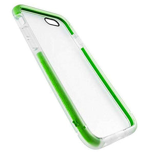 BodyGuardz Contact Case With Unequal Technology for iPhone 6 - Clear/Green - fommystore