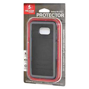 Pelican ProGear Protector Series Case - Black/ Grey for Samsung Galaxy S6 edge Plus SM-G928F - fommystore