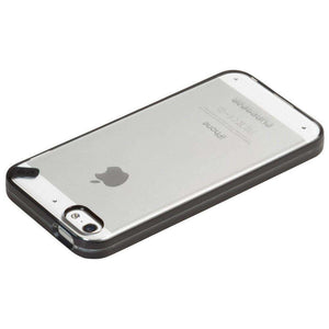 PureGear Slim Shell Case - Clear/ Black/ Licorice Jelly for iPhone 5C - fommystore