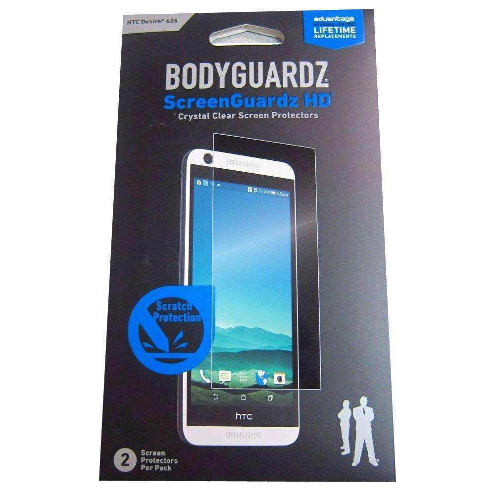 Bodyguardz ScreenGuardz HD Crystal Clear Screen Protector for HTC Desire 626 - fommystore