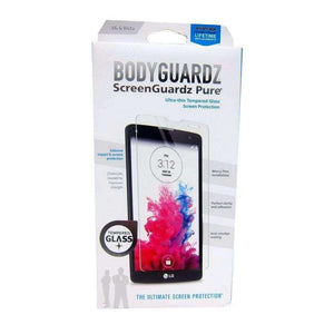 BodyGuardz ScreenGuardz Pure Premium Tempered Glass Screen Protection for LG G Vista VS880 - fommystore