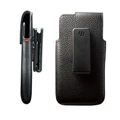 BlackBerry OEM Leather Swivel Holster - Black for BlackBerry Z10 - fommystore