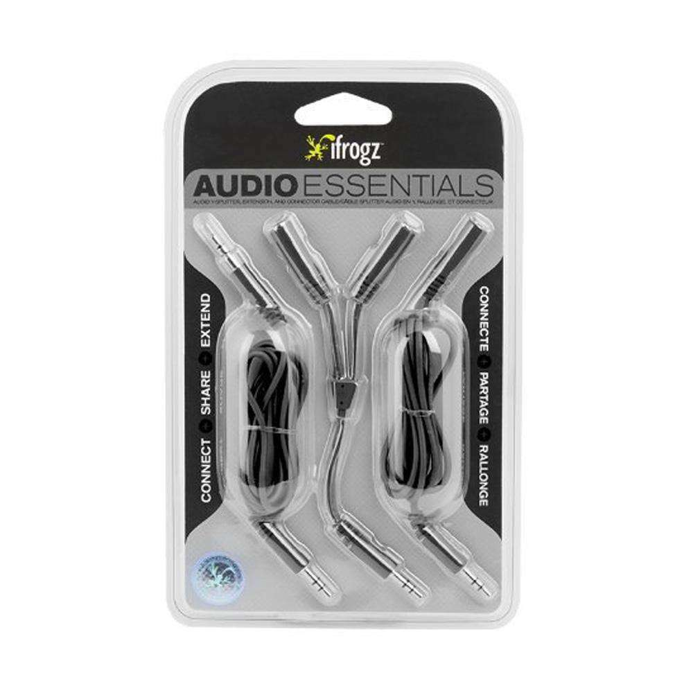 iFrogz IFZ-AU-KIT-BLK Audio Essentials Kit - fommystore