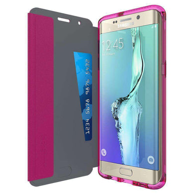 Tech21 Evo Wallet Case - Pink for Samsung Galaxy S6 edge Plus SM-G928F - fommystore