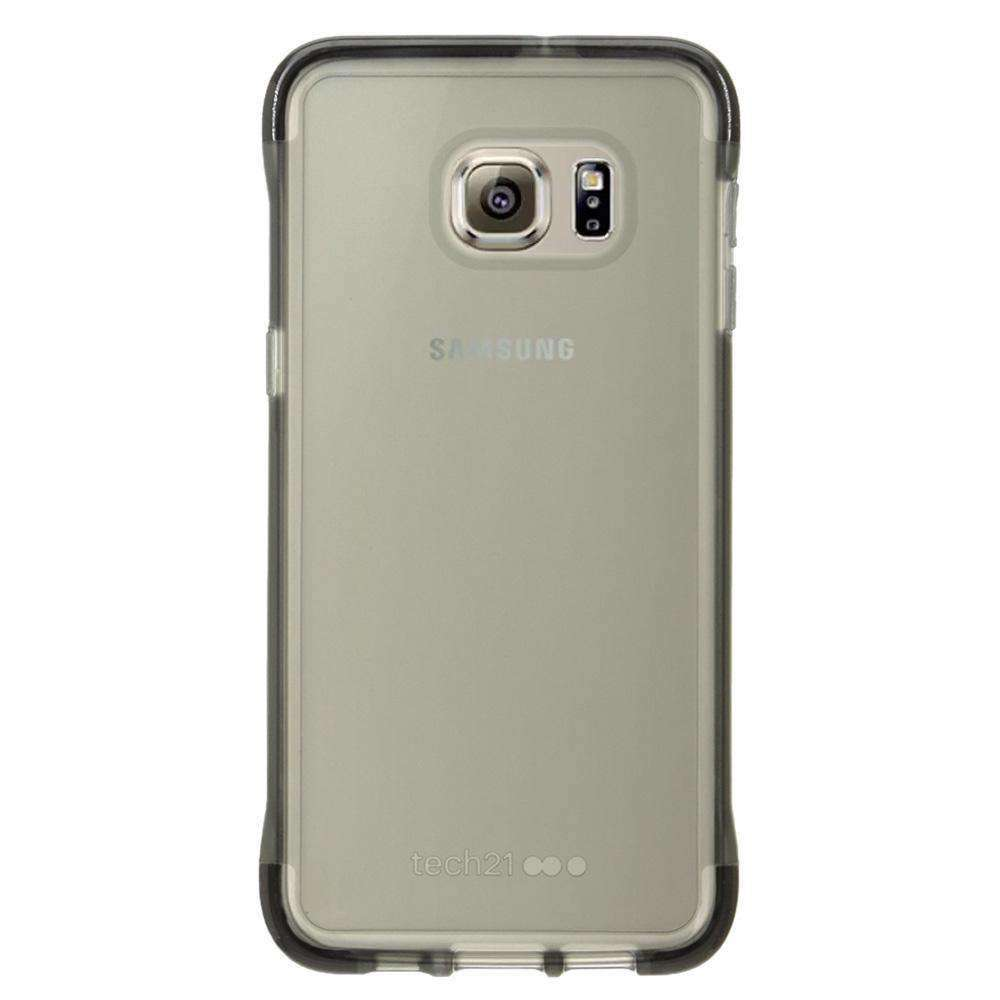 Tech21 Evo Frame Case - Smokey/ Black for Samsung Galaxy S6 edge Plus SM-G928F - fommystore