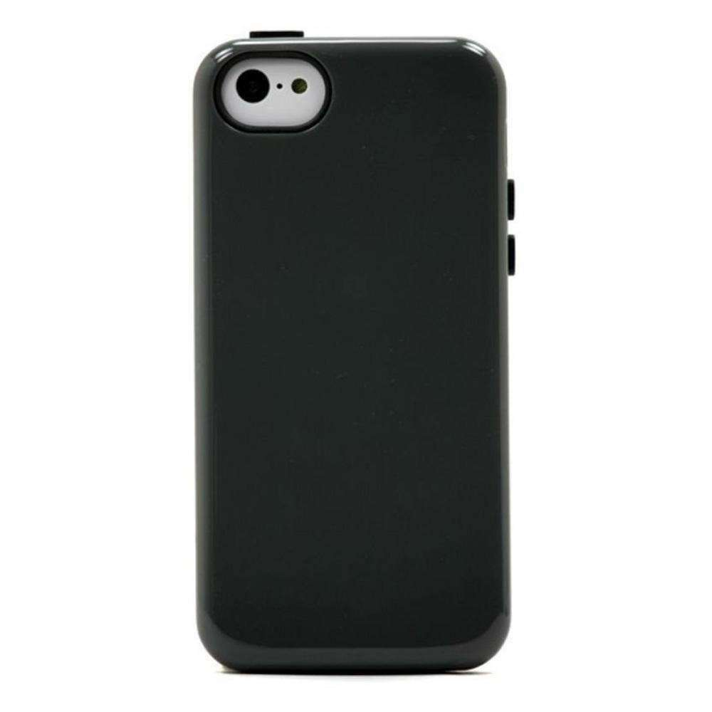 Sonix Inlay Hybrid Case - Charcoal/Black for iPhone 5C - fommystore