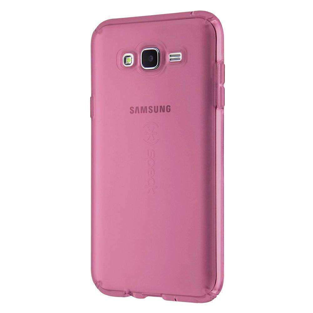 Speck CandyShell Clear Case - Beaming Orchid Purple for Samsung Galaxy J7 SM-J700F - fommystore