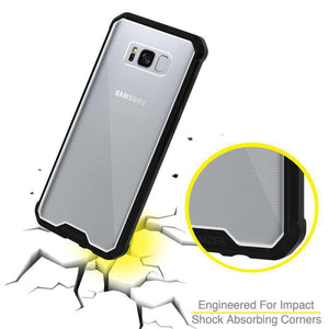 SlimGrip Bumper Hybrid Hard Shockproof Case for Samsung Galaxy S8 Plus - fommystore