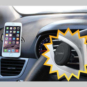 Cellet Extra Strength Magnetic (With Quick Snap Technology) Car Air Vent Smartphone Holder - fommystore