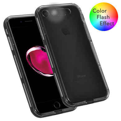 Hybrid Bumper Color Flash Effect Case for iPhone 7, iPhone SE 2020
