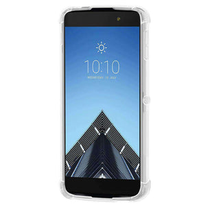 AMZER Pudding TPU Soft Skin X Protection Case for Alcatel Idol 4 Pro - Clear - fommystore