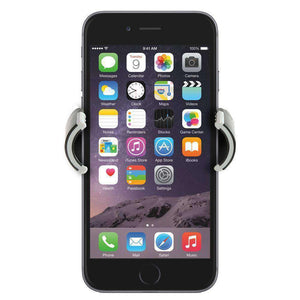 Universal Swiveling Air Vent Car Mount 360° Rotable Smartphone Holder - Black