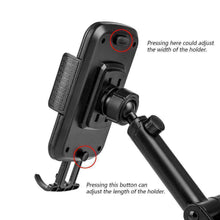 Load image into Gallery viewer, Universal Dash, Windshield Car Mount Phone Holder With Adjustable Extension Arm - fommystore