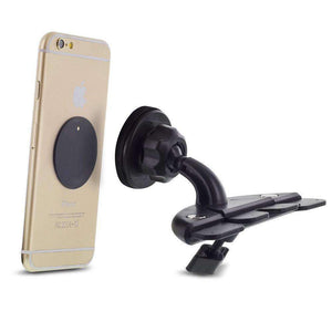 Universal 360° Rotable Magnetic CD Slot Car Smartphone Holder Mount - fommystore