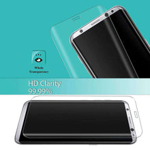 Load image into Gallery viewer, 9H Edge2Edge Curved 3D Tempered Glass Protector for Samsung Galaxy S8 - Clear - fommystore