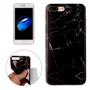 Marble IMD Soft TPU Protective Case for iPhone 7 Plus