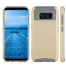 Load image into Gallery viewer, Hybrid Glossimer UV Coating Protective Case - Gold for Samsung Galaxy S8 for Samsung Galaxy S8 - fommystore