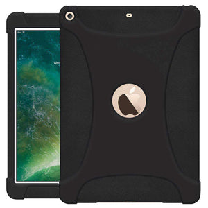 AMZER Shockproof Rugged Silicone Skin Jelly Case for Apple iPad 9.7 - fommystore