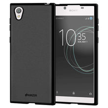 Load image into Gallery viewer, AMZER Pudding Soft TPU Skin Case for Sony Xperia L1 - Black - fommystore