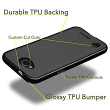 Load image into Gallery viewer, AMZER Pudding Soft TPU Skin Case for LG K10 POWER - Black - fommystore