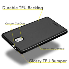 Load image into Gallery viewer, AMZER Pudding Soft TPU Skin Case for Nokia 3 - Black - fommystore