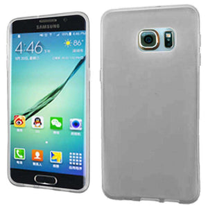 Frosted Matte TPU Case - Clear for Samsung Galaxy S6 edge Plus SM-G928F - fommystore