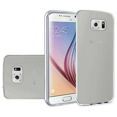 Frosted Matte TPU Case - Clear for Samsung Galaxy S6 SM-G920F - fommystore