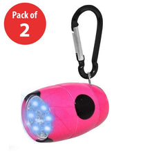 Load image into Gallery viewer, Fashion Print LED Tank Light with Carabiner Clip - (Pack of 2) - fommystore