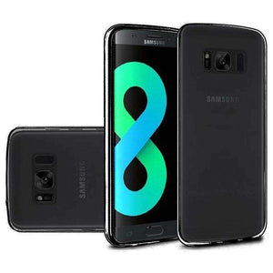 Solid TPU Case - Black for Samsung Galaxy S8 Plus