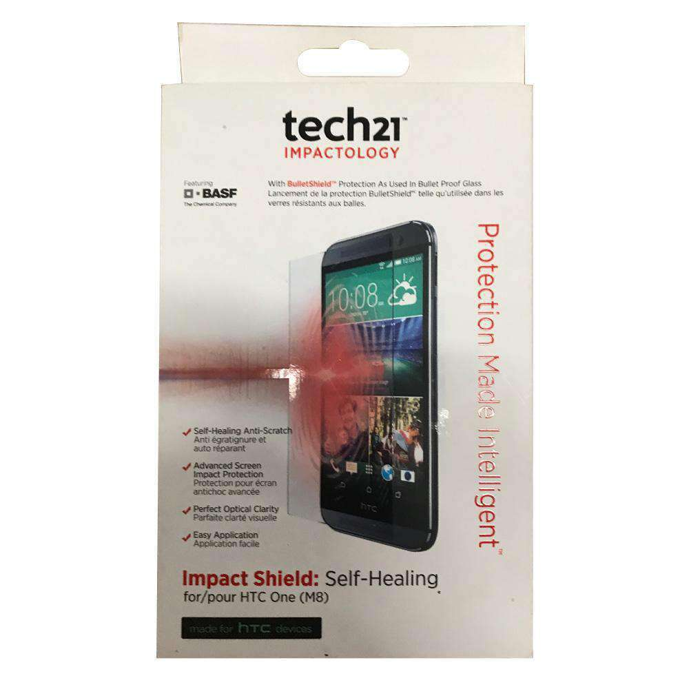 Tech21 Impact Shield Self Healing Screen Protector for HTC One M8 - fommystore