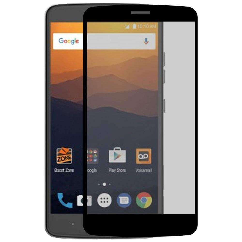 Anti Scratch Tempered Glass Screen Protector for ZTE Blade Max 3 Z986U - Black - fommystore