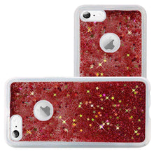 Load image into Gallery viewer, Hybrid Quicksand with Glitter Fused Flexible TPU Case for iPhone 6/ 6s