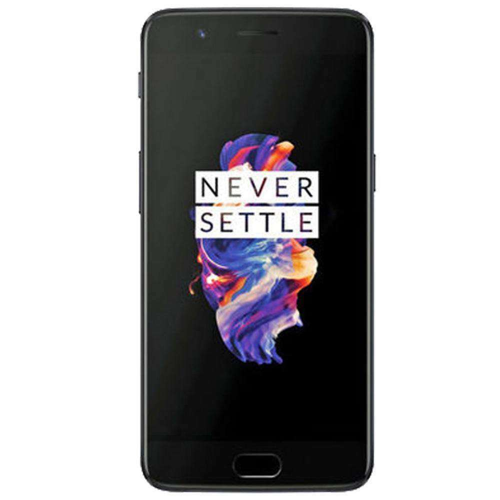 Premium Tempered Glass Screen Protector - Black for OnePlus 5 - fommystore