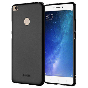 AMZER Pudding Soft TPU Skin Case for Mi Max 2 - Black - fommystore