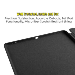 AMZER Shell Portfolio Case Leather Texture for Apple iPad Air 10.5 2019/ Apple iPad Pro 10.5