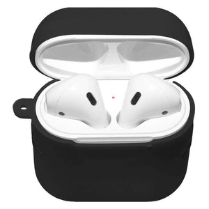 AMZER Silicone Skin Jelly Case With Airpod Strap & Neck Lanyard - fommystore