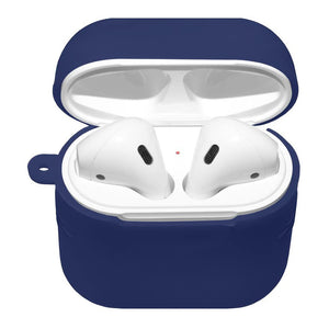 AMZER Silicone Skin Jelly Case With Airpod Strap & Neck Lanyard