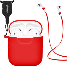 Load image into Gallery viewer, Skin Jelly Case With Airpod Strap & Neck Lanyard under 9 dollar